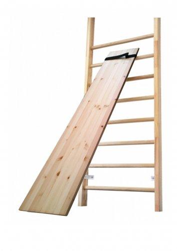 STOLL Závěsná lavice dřevo 190x30 cm