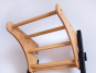 Závěsná hrazda dřevěná BenchK PB23 zepředu