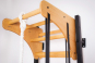 Závěsná hrazda dřevěná BenchK PB23 otvory pro připevnění kruhů