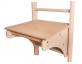 Dětský stoleček na žebřiny BenchK 110 profil